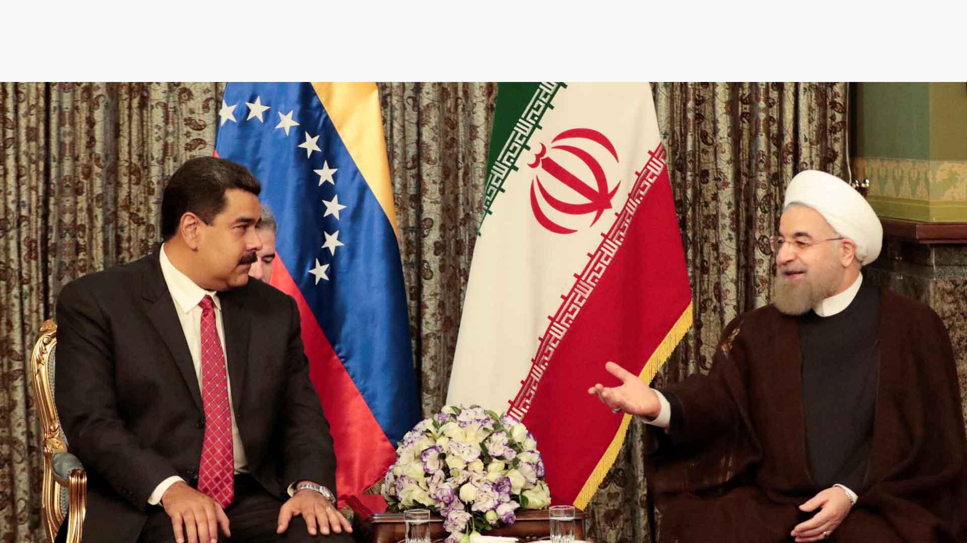 El presidente Hassan Ruhani se reunió con su par venezolano, Nicolás Maduro para hablar sobre la situación del mercado petrolero