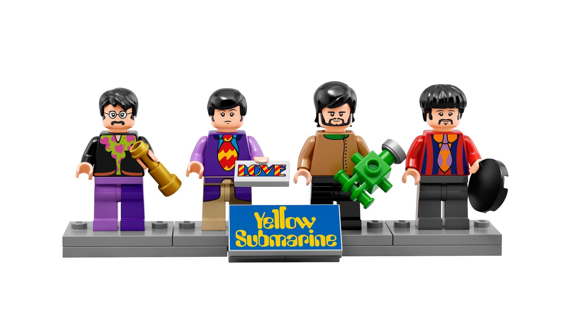 En noviembre llegará a las tiendas la edición especial de las figuras para celebrar los 50 años de la canción Yellow Submarine