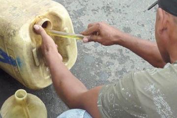 Los imputados fueron interceptados con más de cinco mil litros de combustible en Delta Amacuro