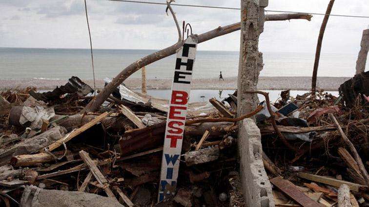 el huracán Matthew a su paso por Haití dejó 372 fallecidos