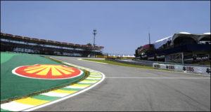La seguridad en los circuitos mejoró en gran manera. Este es el Interlagos donde se corre el GP Brasil
