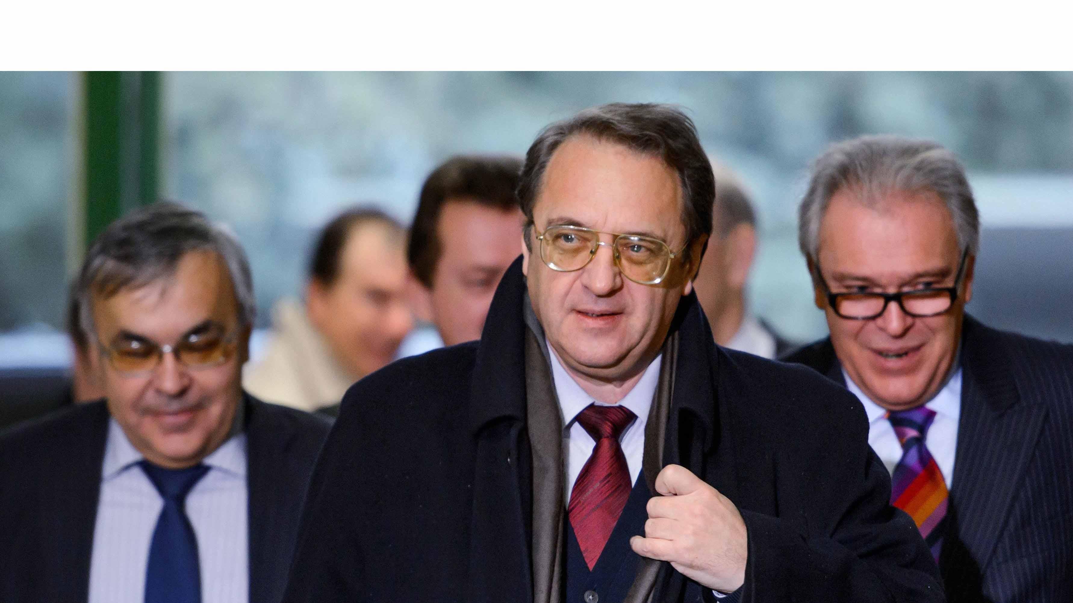 Tras una llamada realizada por el secretario de estado de norteamericano el vice ministro de exteriores ruso se prevé retomar la discusión