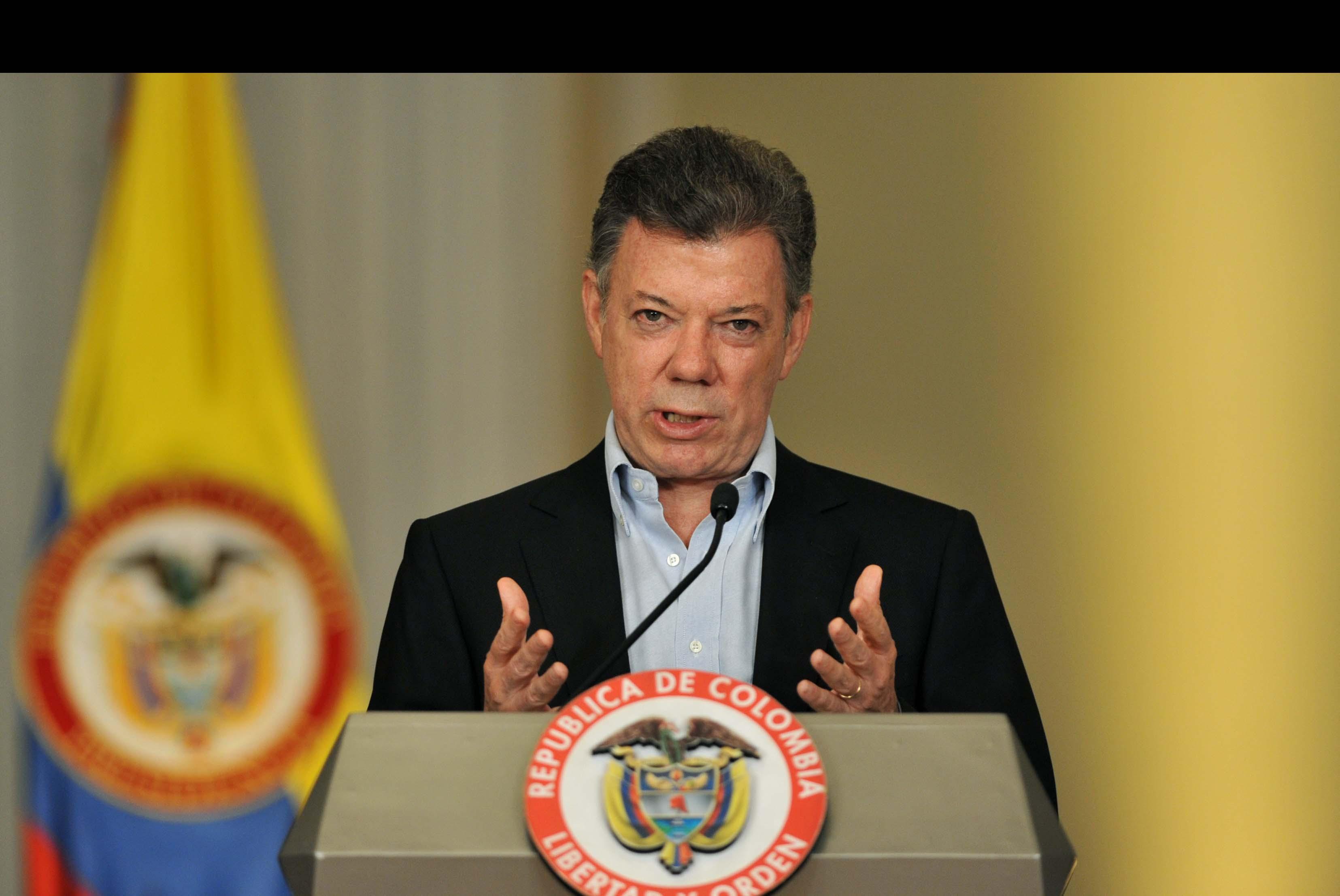 El presidente Colombiano Juan Manuel Santos espera que a la fecha tope se lleguen a nuevos consensos