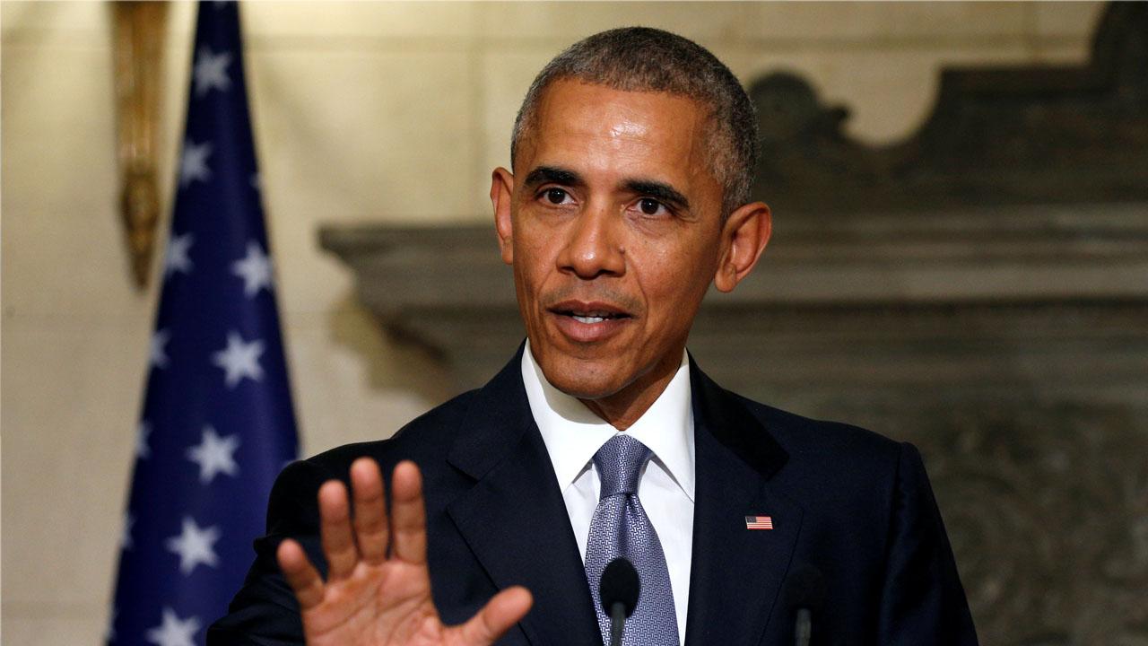 El mandatario estadounidense se encuentra realizando su última gira como presidente en Alemania