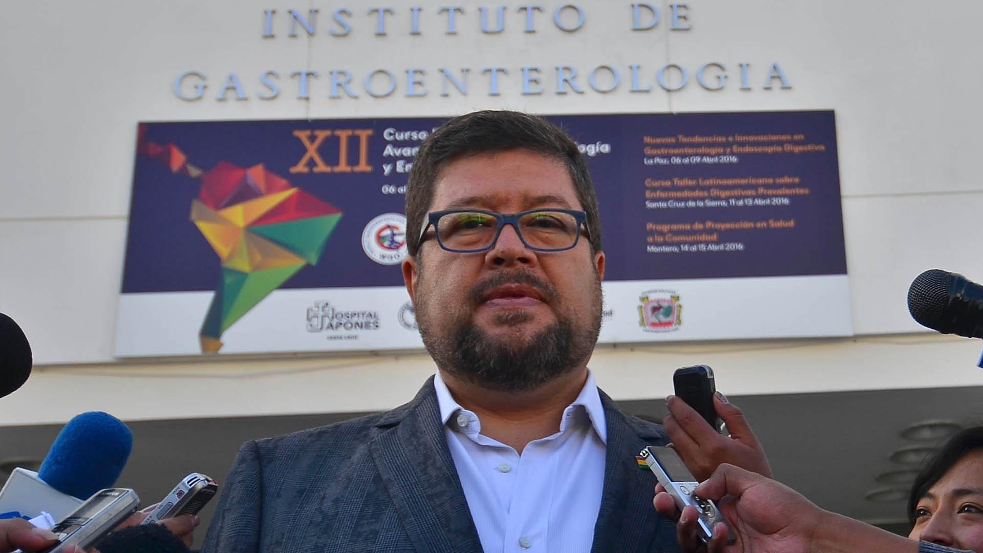 El proceso penal iniciado contra Samuel Doria Medina, fue suspendido hasta el próximo jueves