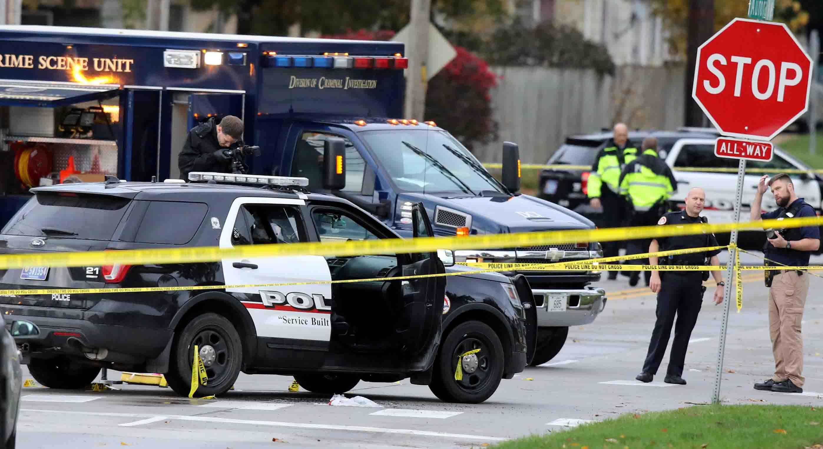 El cuerpo de seguridad indica que se trato de dos embocadas en distintos puntos, por ahora se encuentran en la búsqueda de un sospechoso