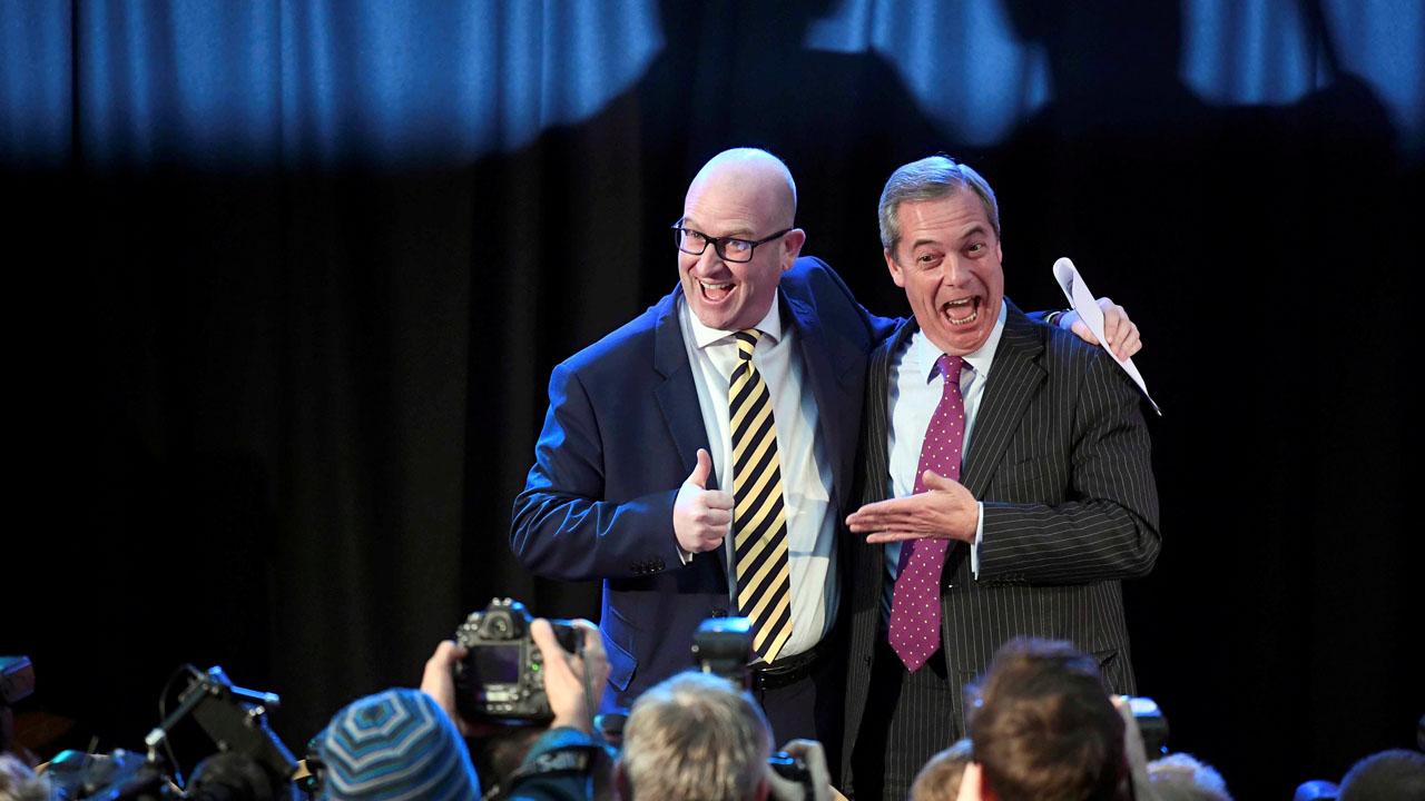 El eurodiputado se impuso a la ex número dos del partido Suzanne Evans y a John Rees-Evans, un veterano del Ejército británico
