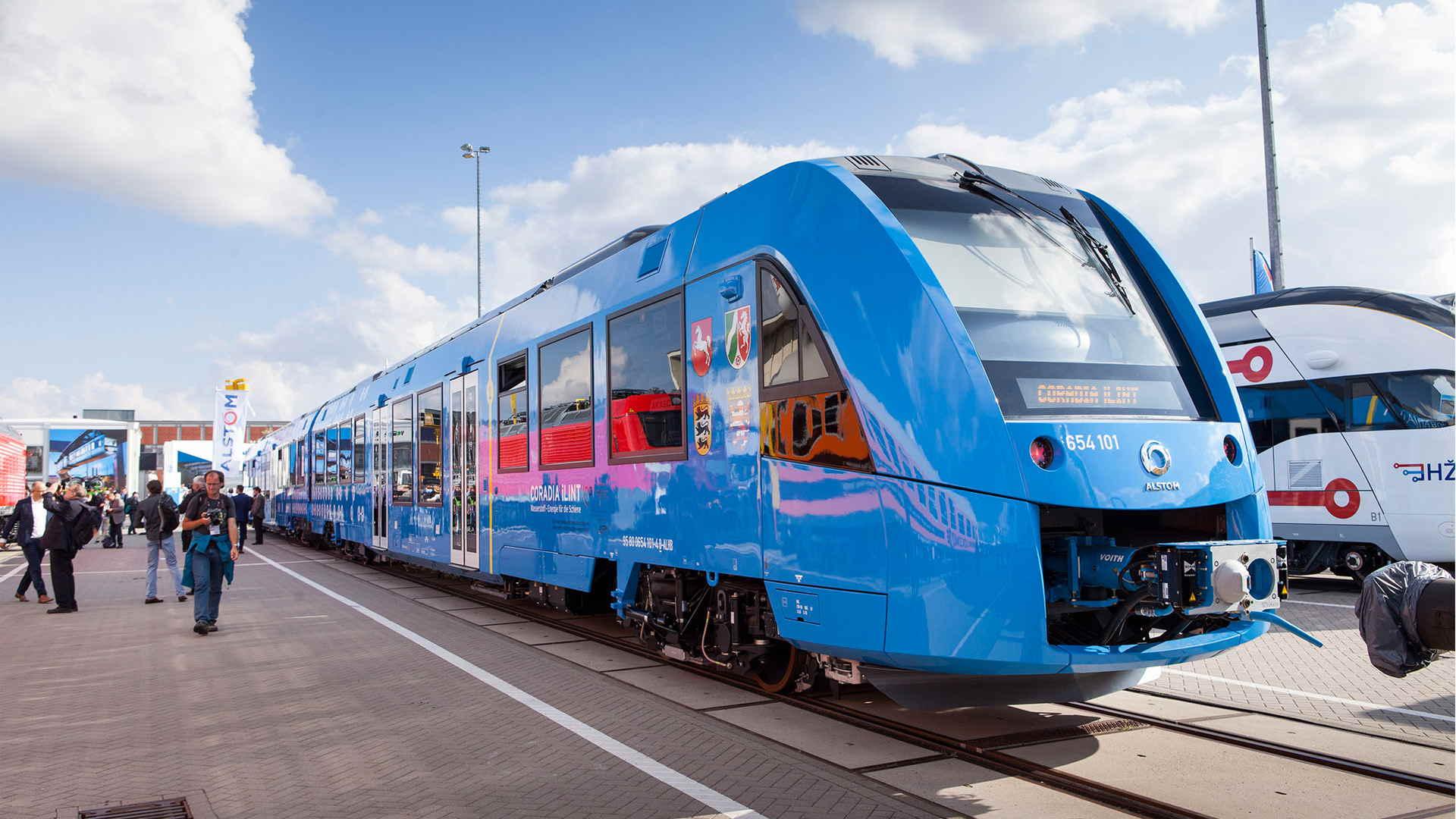 Alemania estrenará el primer tren impulsado con hidrógeno, el cual no emite gases de invernadero