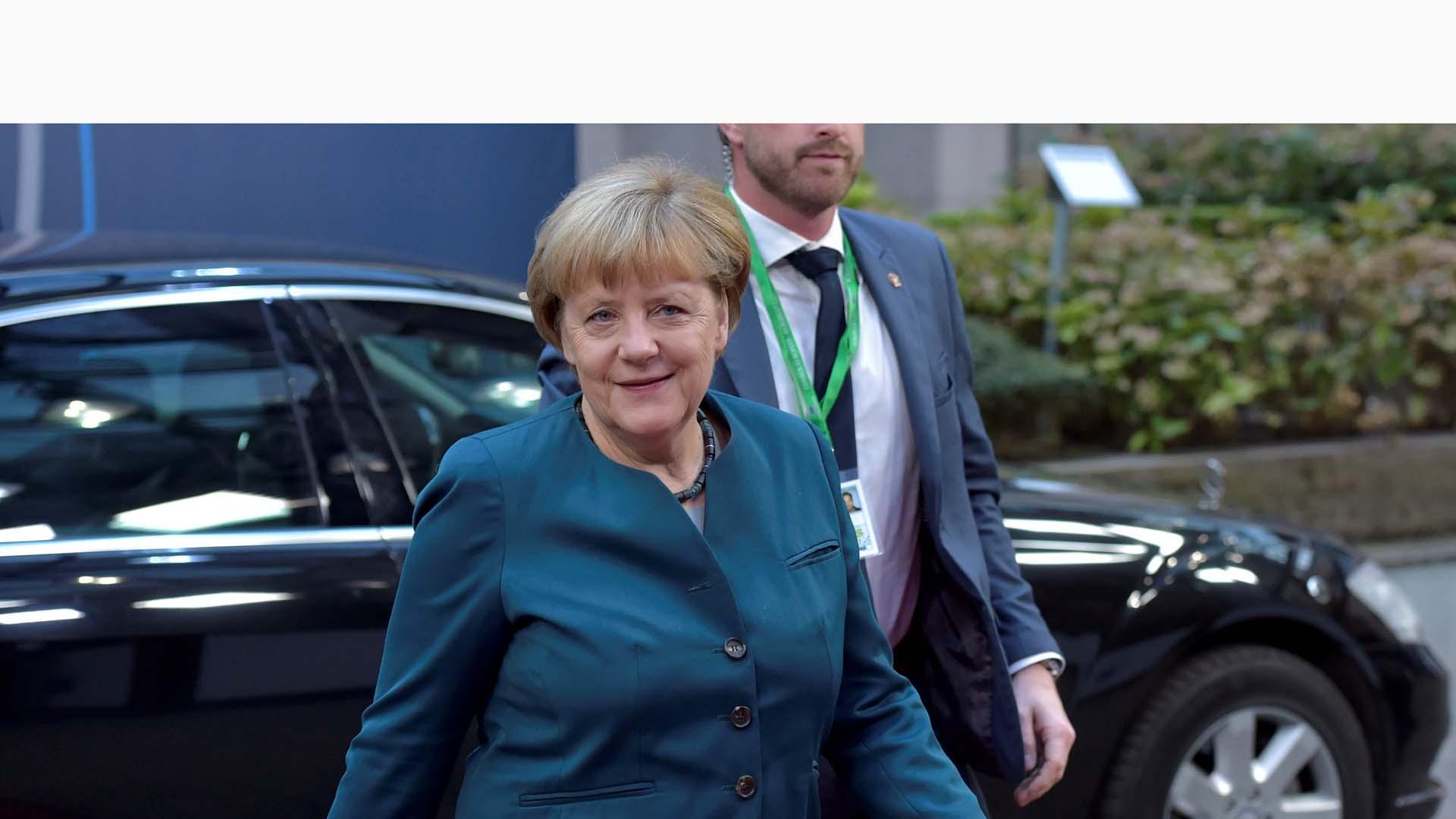La canciller alemana, Angela Merkel, quiere que la relación con Reino Unido luego del Brexit siga siendo buena