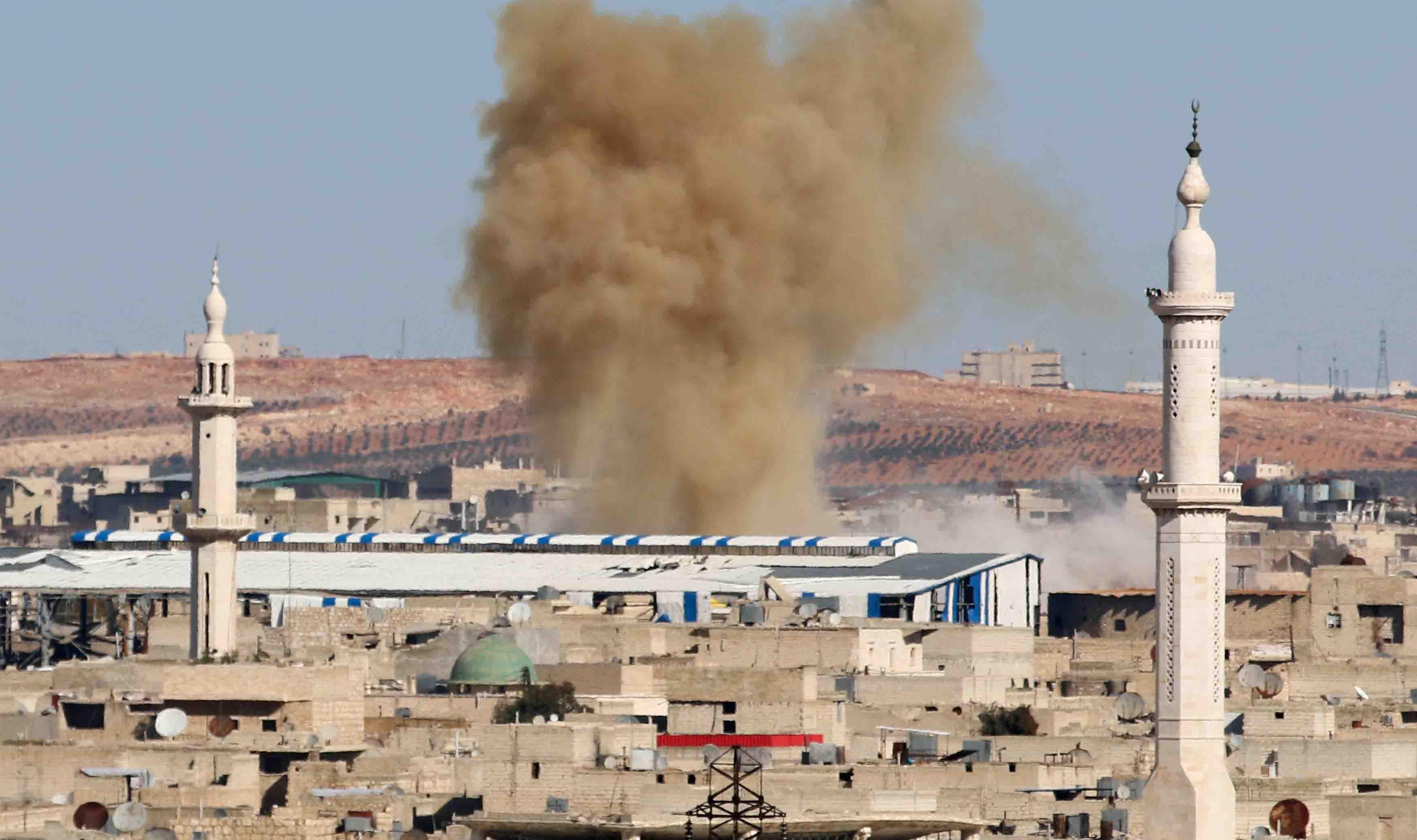 Este sería el ataque aéreo con más víctimas mortales después de una tensa calma que culminó el pasado martes