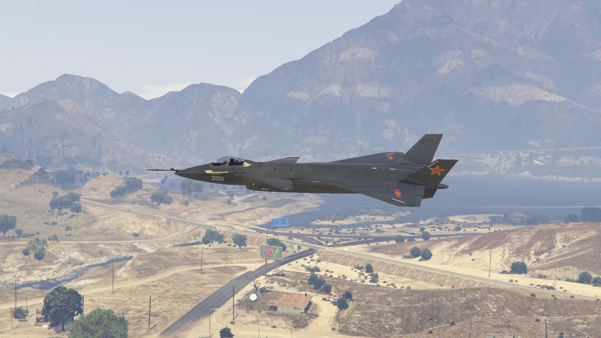 """Pekín quiere modernizar y mejorar sus capacidades militares con el modelo """"Chengdu J-20"""""""