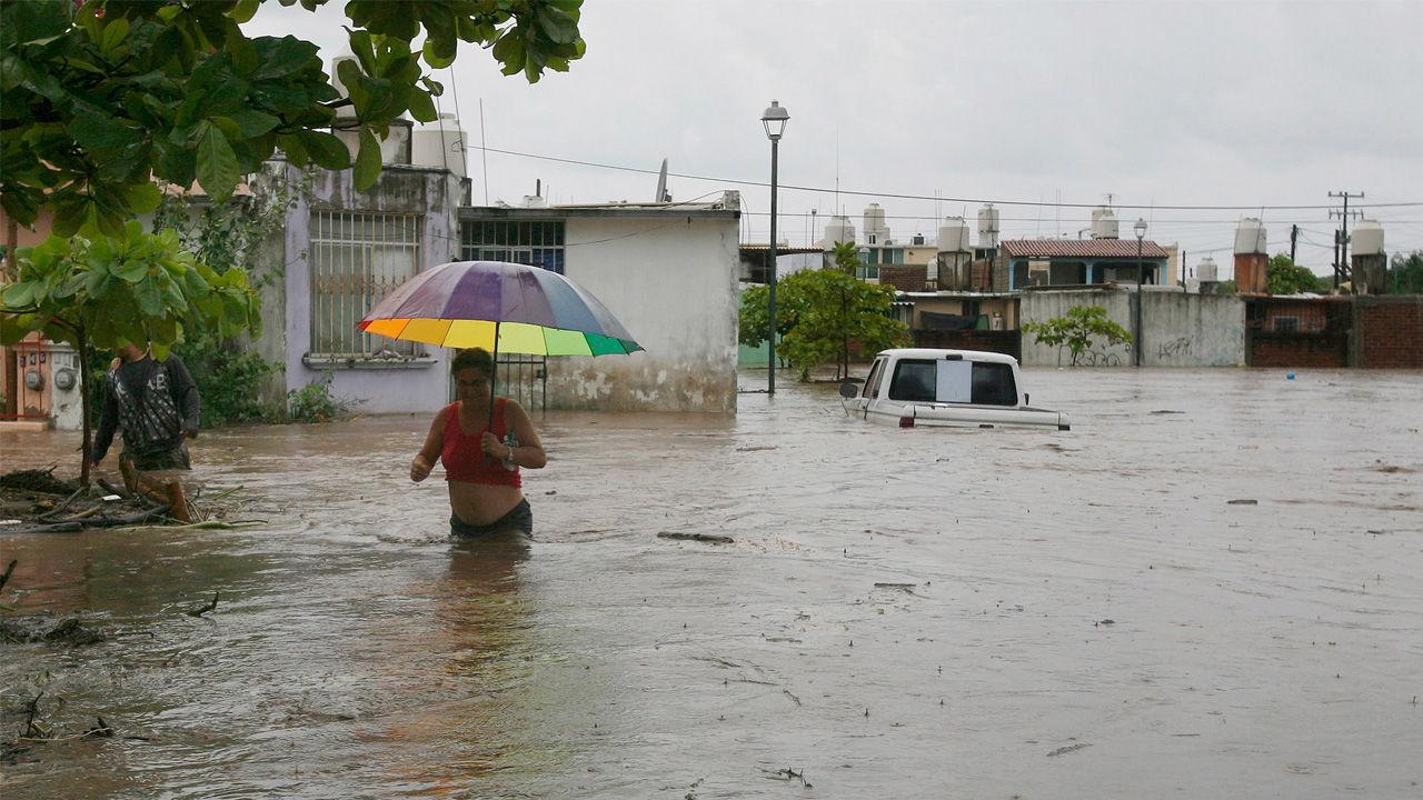 Boca de Uchire y comunidades cercanas a San Cristóbal han sido afectadas por las precipitaciones