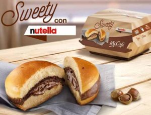 Swetty con Nutella está disponible sólo para Italia