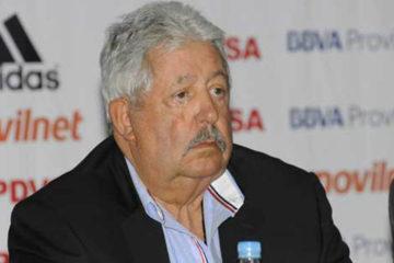 El ex presidente de la FVF le esperan 20 años