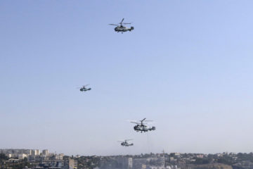 El ministro de Defensa ruso, Serguei Shoigu, indicó que fue una respuesta a la ofensiva de la OTAN
