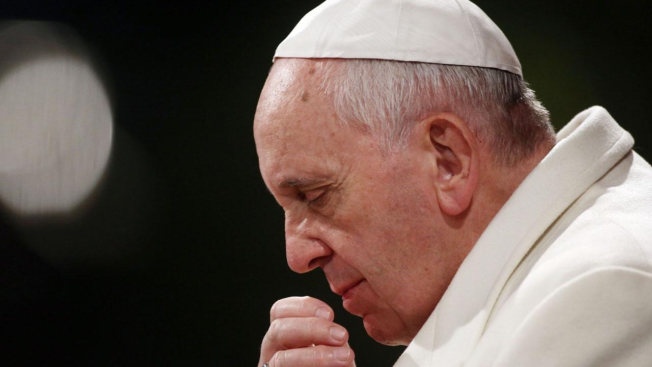 El pontífice esta preocupado por los niños