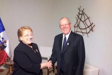 El jefe de estado peruano visitará a Bachelet