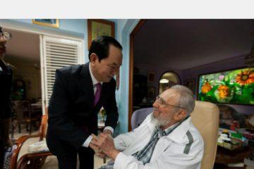 El presidente de Vietnam se reunirá este miércoles con su homólogo Raúl Castro para tratar textos de interés