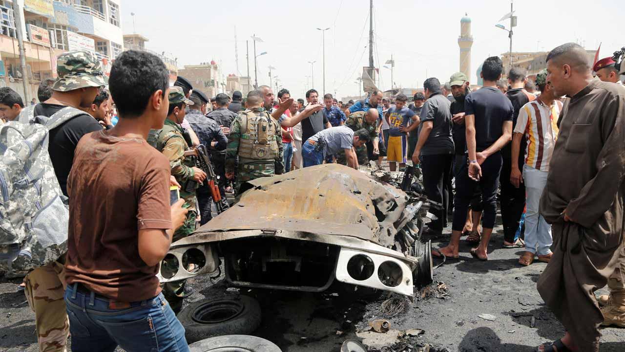 Durante la celebración de una boda en la provincia de Amiriyat un coche explotó ocasionando al menos 30 muertos y 45 heridos