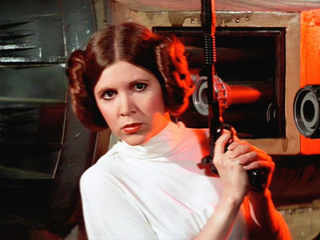 'Que la fuerza te acompañe' Princesa Leia