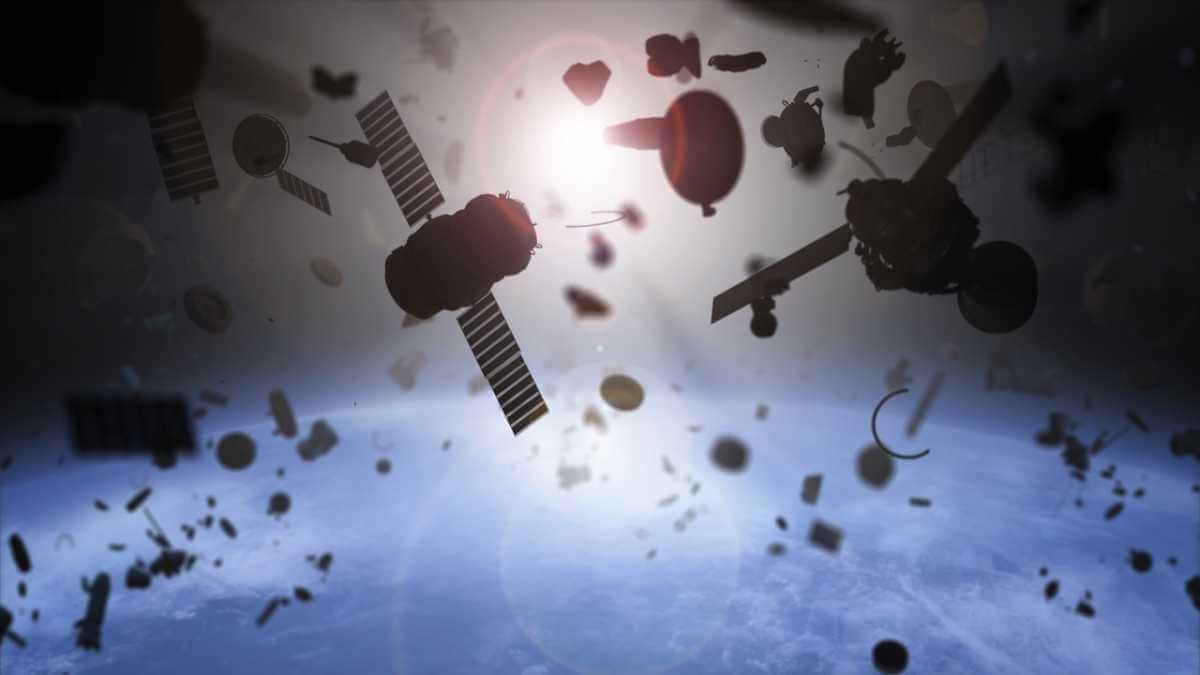 Los japoneses enviaron al espacio una nave que desplaza la basura creada por el hombre