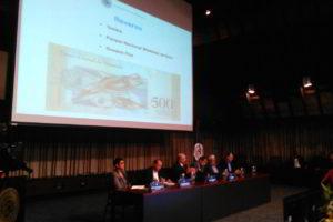 El presidente del Banco Central, Nelson Merentes, explicó las medidas de protección