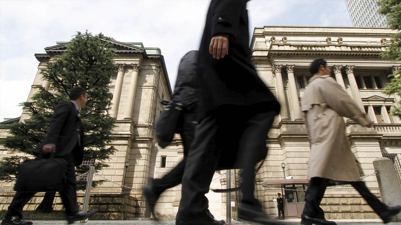 Según cifras del Banco Central de Japón, los índices Tanken subieron cuatro puntos más con respecto al trimestre anterior