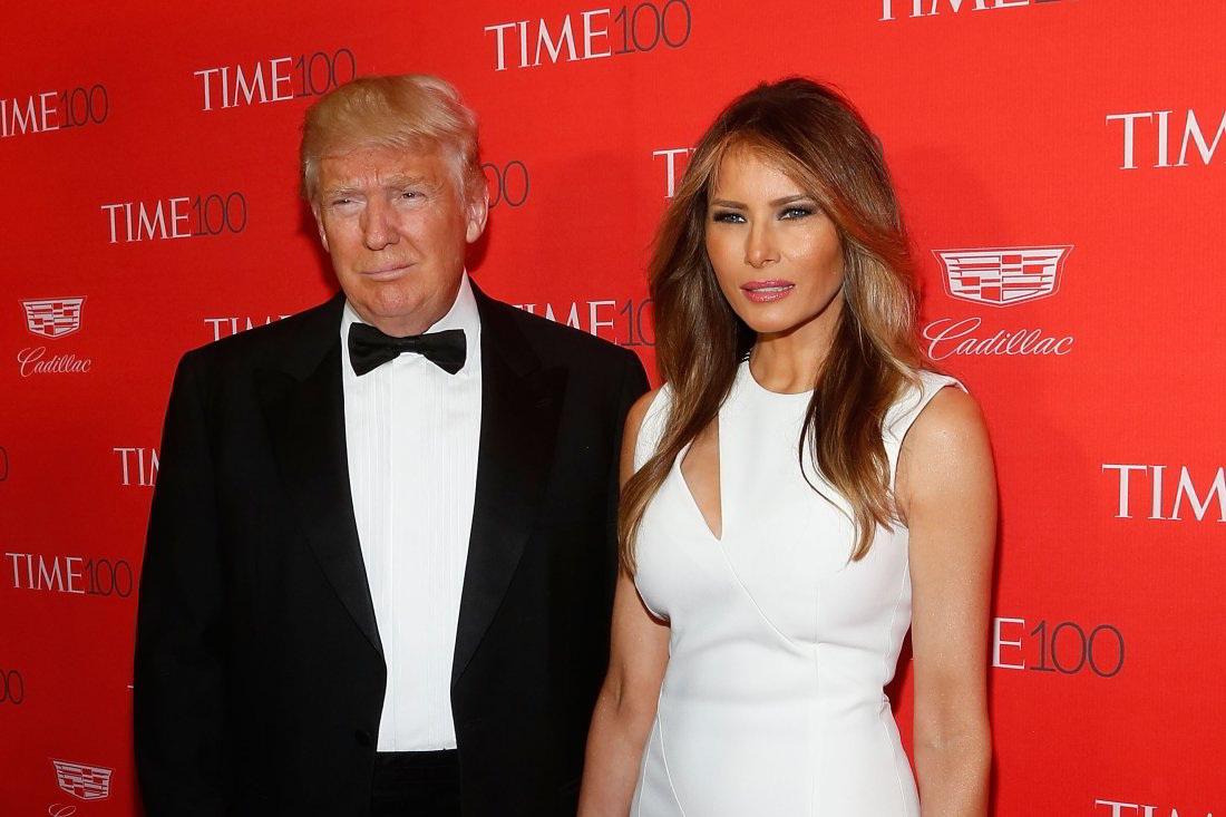 La esposa de Donald Trump protegió su nombre en su país natal