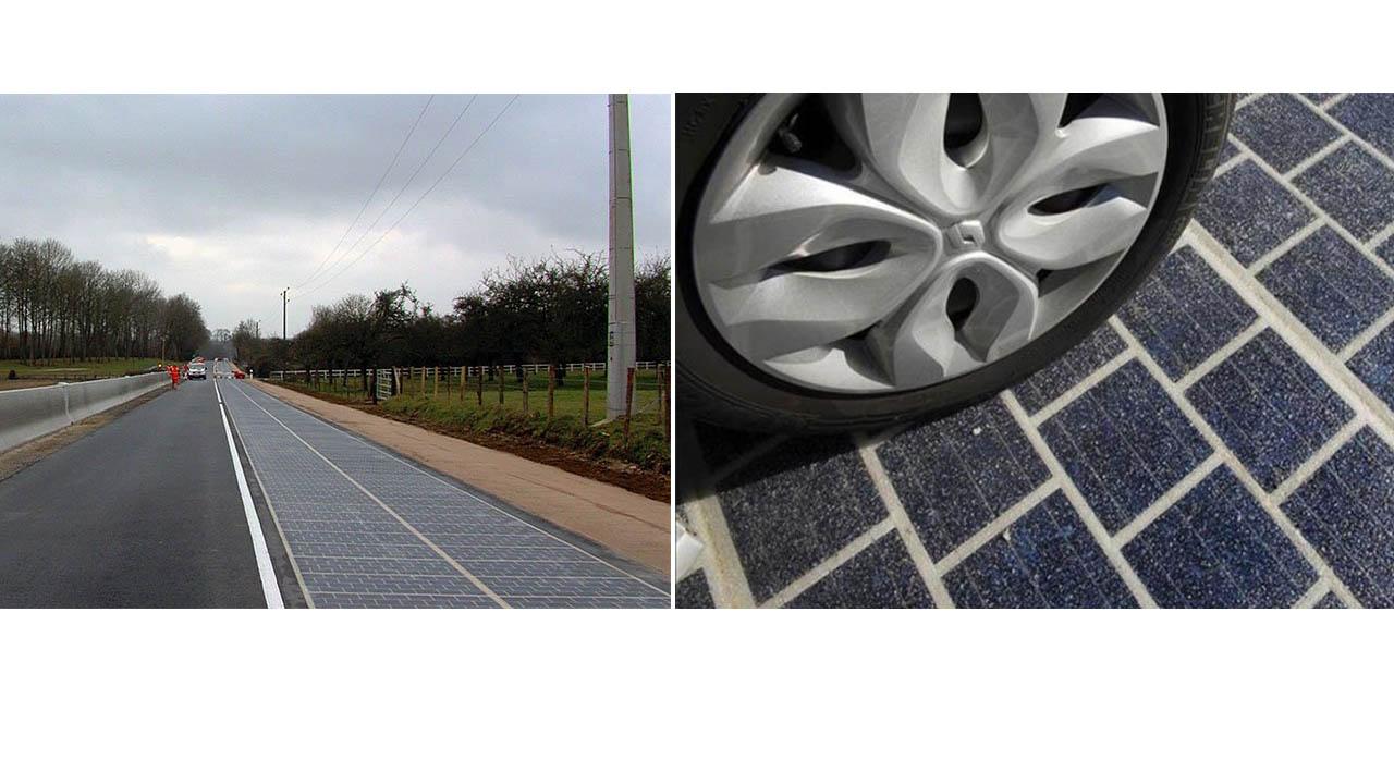 La primera carretera de paneles solares del mundo está ubicada en el pueblo francés de Normandía y cuenta con una longitud de un kilómetro