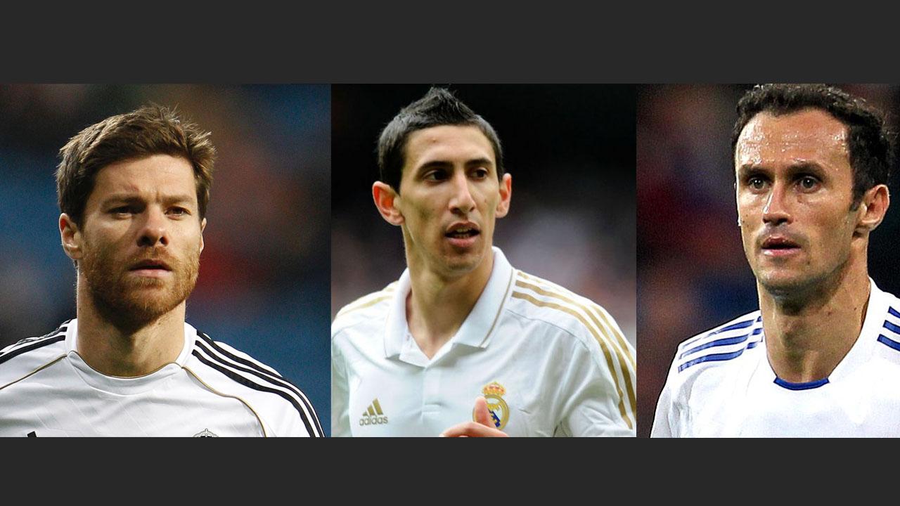 Xabi Alonso, Ángel Di María y Ricardo Carvalho son los ex jugadores del Real Madrid que fueron denunciados por la Fiscalía