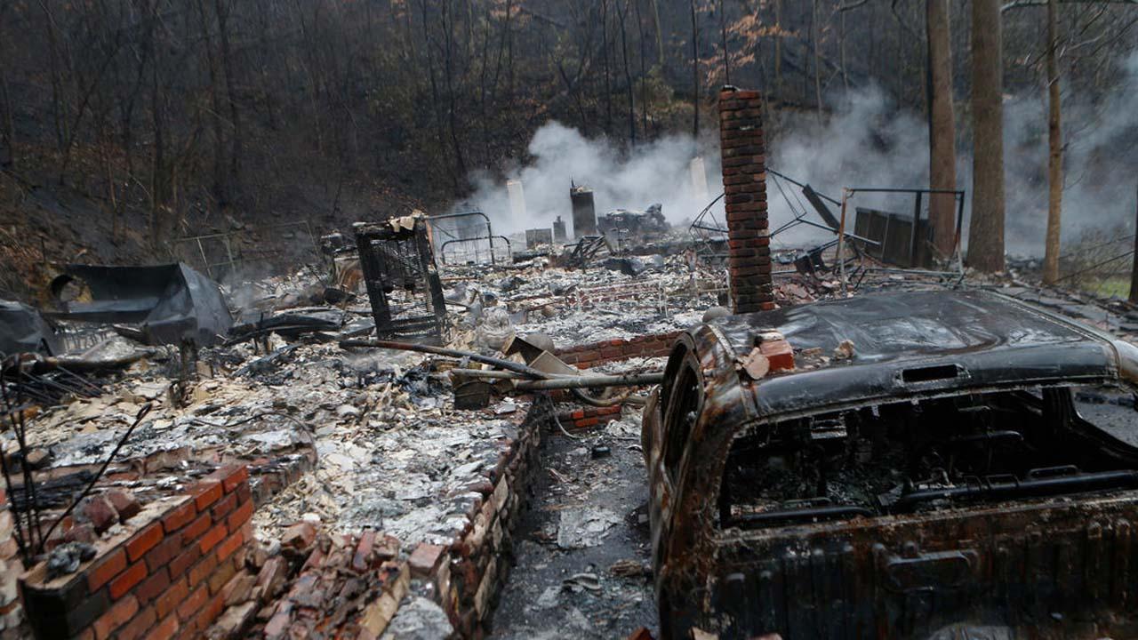 Incendio destruye parque nacional