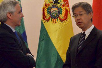 El país asiático le donará dinero a Bolivia