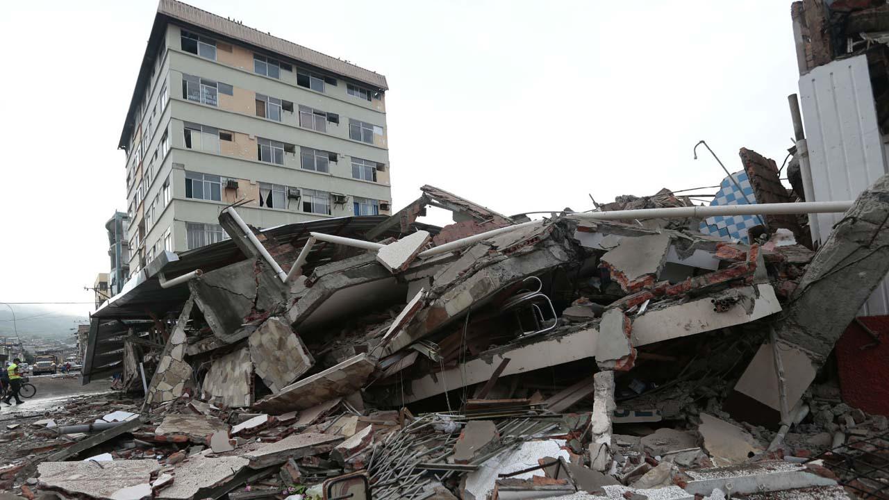 El temblor tuvo una magnitud de 5,8