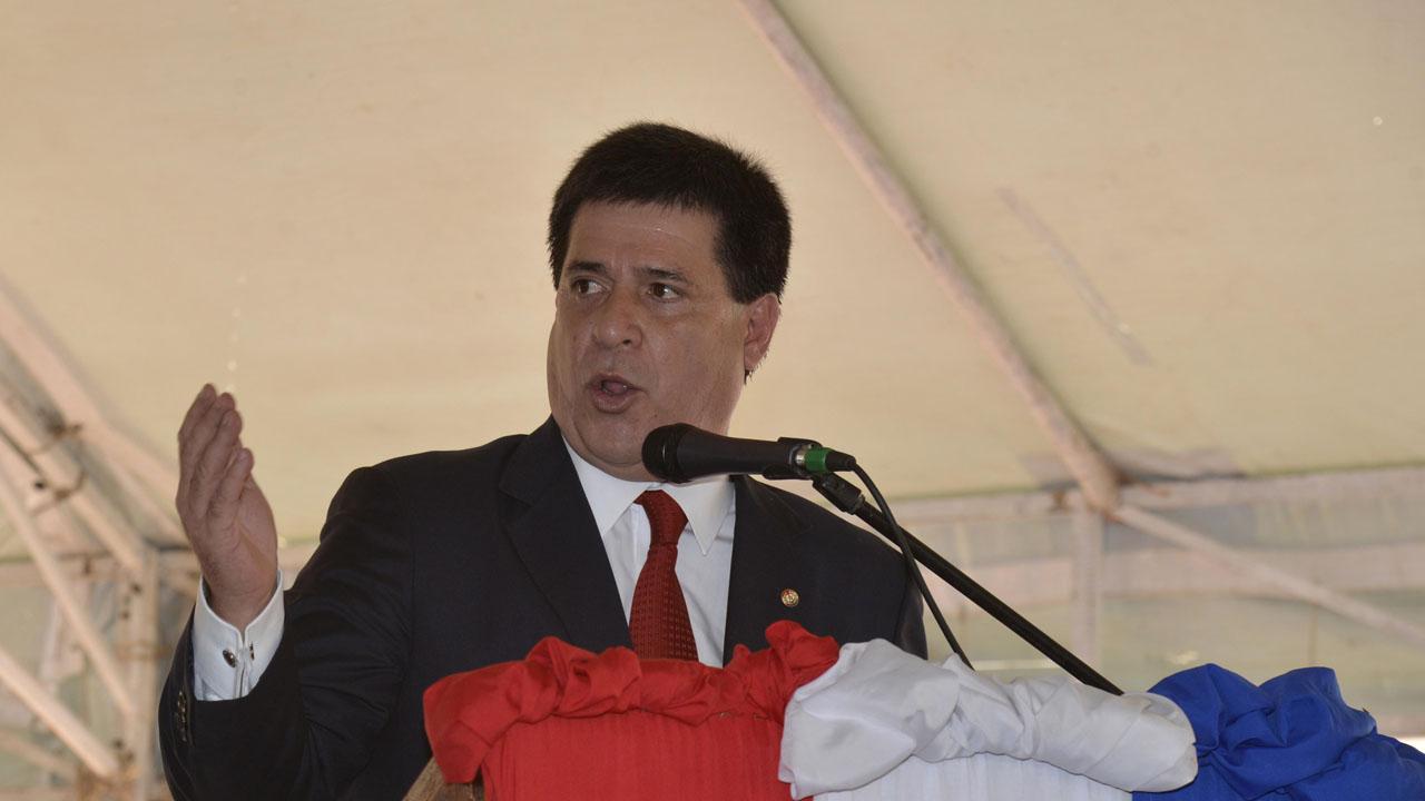 El mandatario paraguayo, Horacio Cartes, vetó el Presupuesto General de la Nación para el próximo año lo que producirá debates en el Congreso
