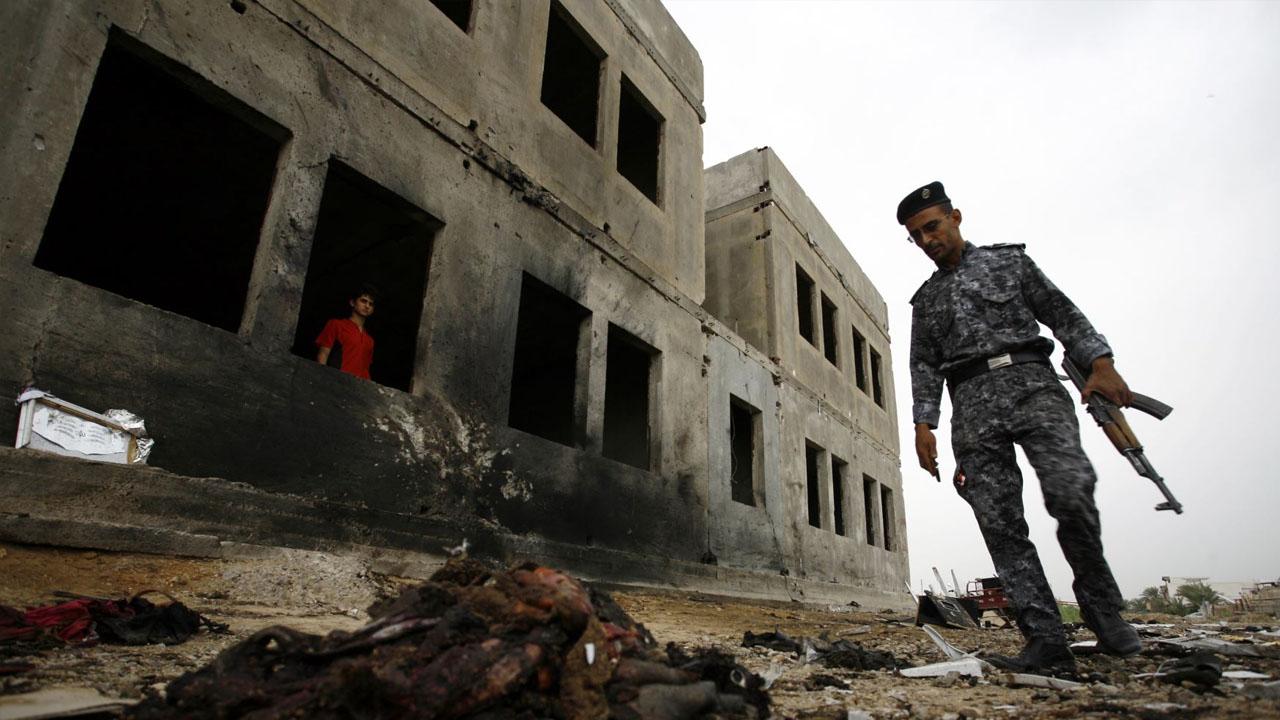Luego de la explosión de un coche bomba en Bagdad, siete personas resultaron heridas mientras que otro grupo perdió la vida