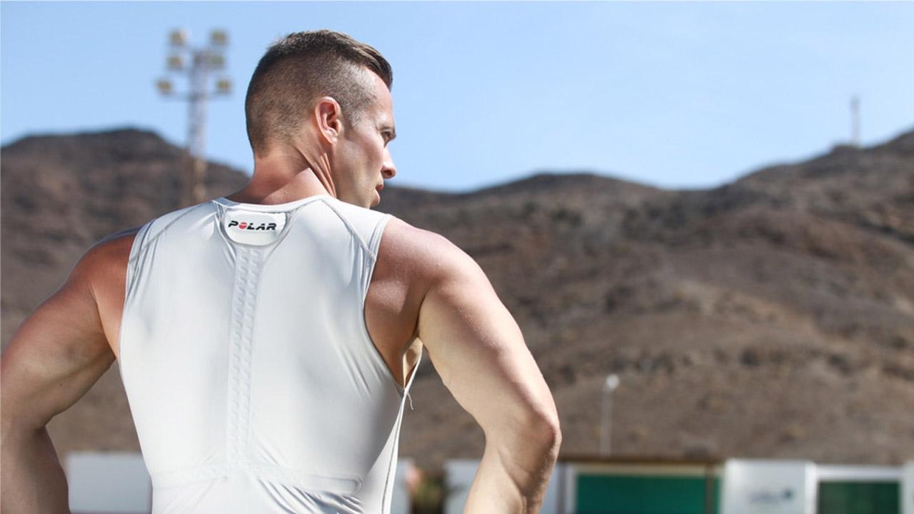 Polar Team Pro Shirt, permite registrar el rendimiento de todos los atletas a través de una tecnología inalambrica