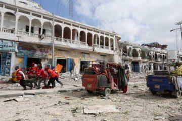 El grupo terrorista Al Shabaad atacó el Hotel Dayah ubicado en la capital somalí, Mogdiscio