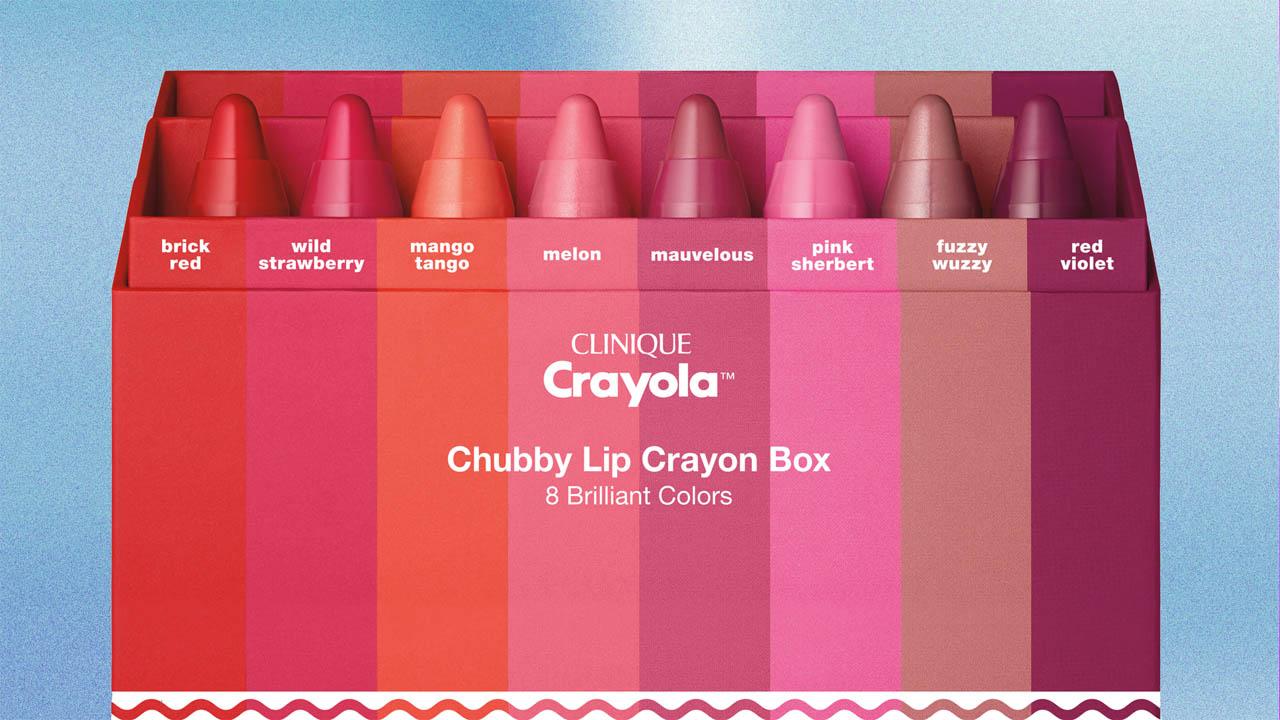 La firma de crayones y la gigante cosmética se unieron para lanzar al mercado una línea de labiales inspirada en los famosos lapices