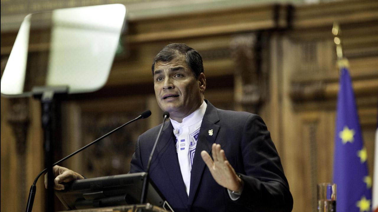 El presidente ecuatoriano viajó a Nueva York para recibir la batuta del grupo conformado por 134 países