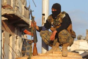 Los integrantes del Frente Fatah al Sham murieron en la localidad de Salqin