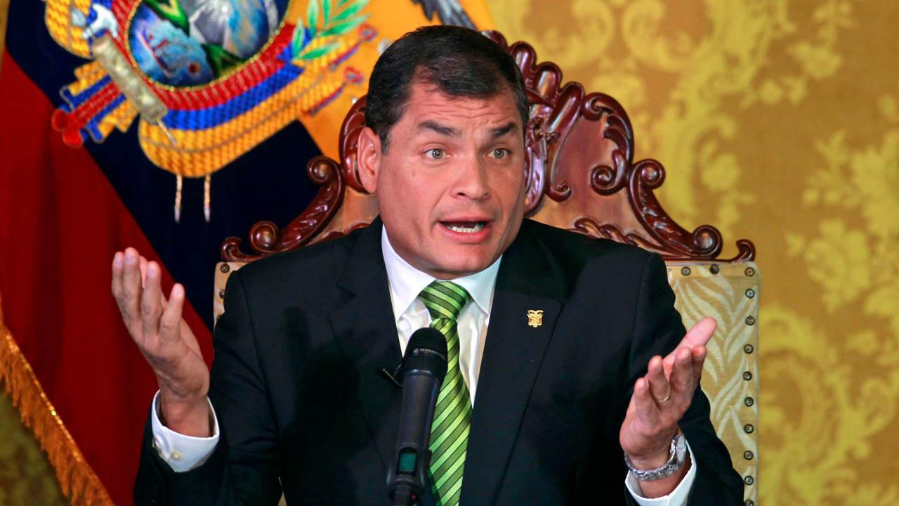 El mandatario Rafael Correa aseguró que para 2017 se espera un crecimiento de 1,4 por ciento de la economía