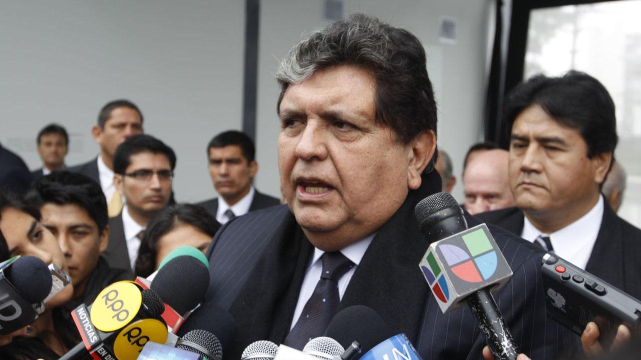Alan García insistió en que no està implicado en hechos de corrupcion de la constructora brasileña Odebrecht