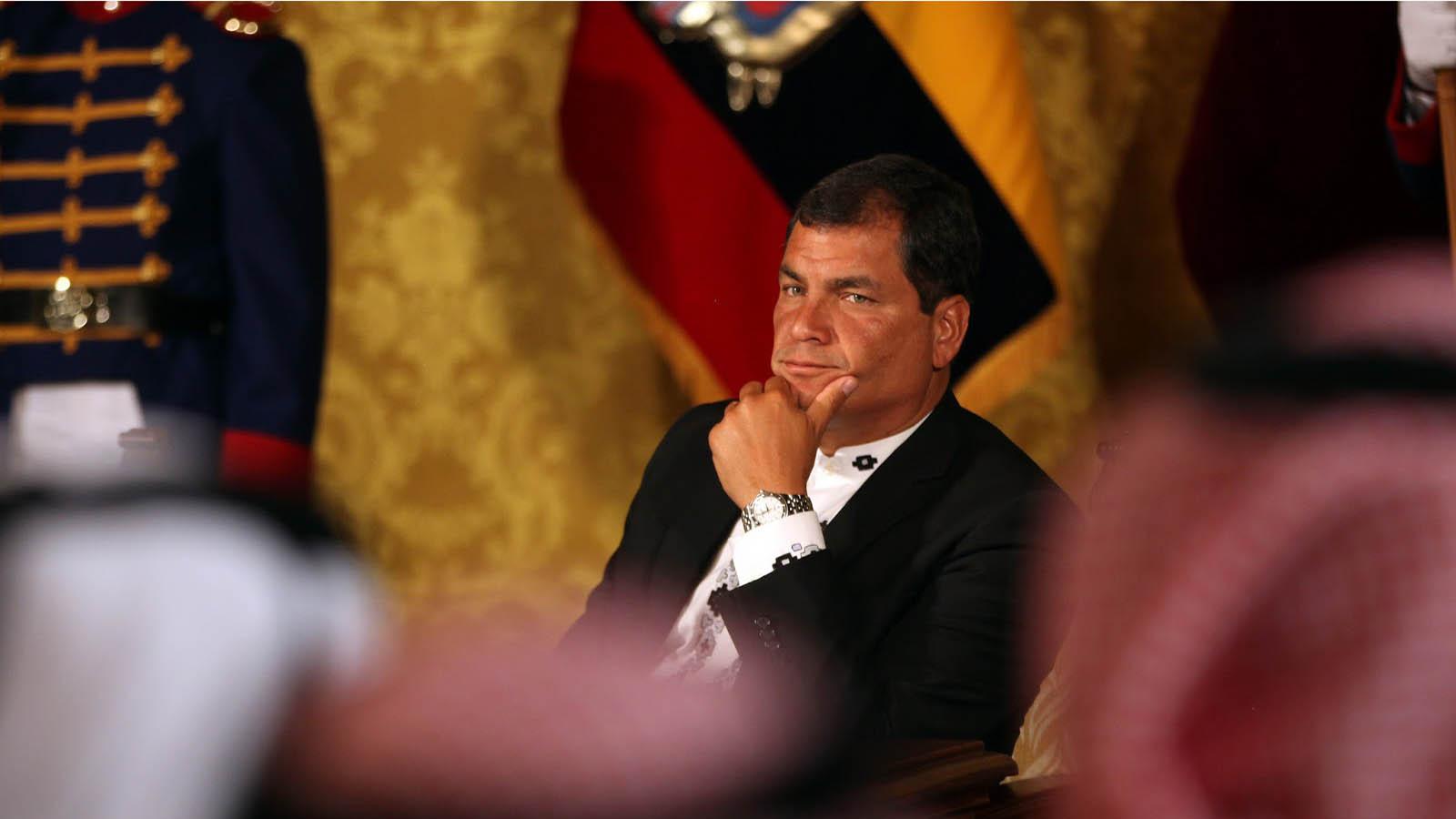 """El presidente ecuatoriano cree en la """"alternabilidad"""" como derecho y deber político"""