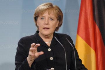 La canciller alemana cree en los Estados Unidos
