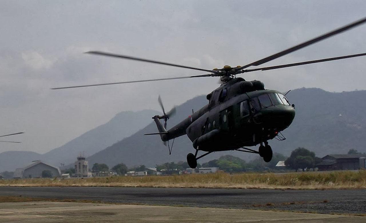 El Ministerio de Defensa desmintió que el MI17V5 fue encontrado sin sobrevivientes