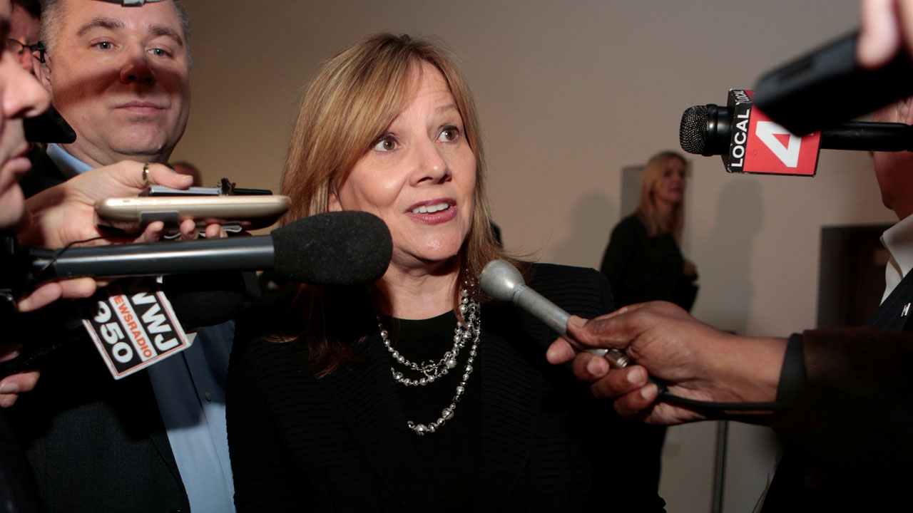 """Mary Barra, Directora General de la automotriz afirmó que su objetivo es que EE.UU. """"se fortalezca de la manos de los comercios"""""""