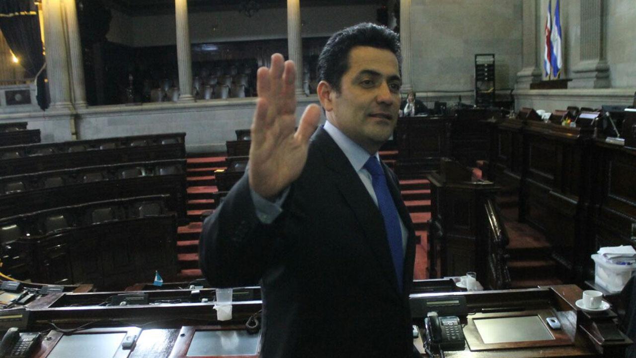 Óscar Taracena es el nuevo jefe del Congreso