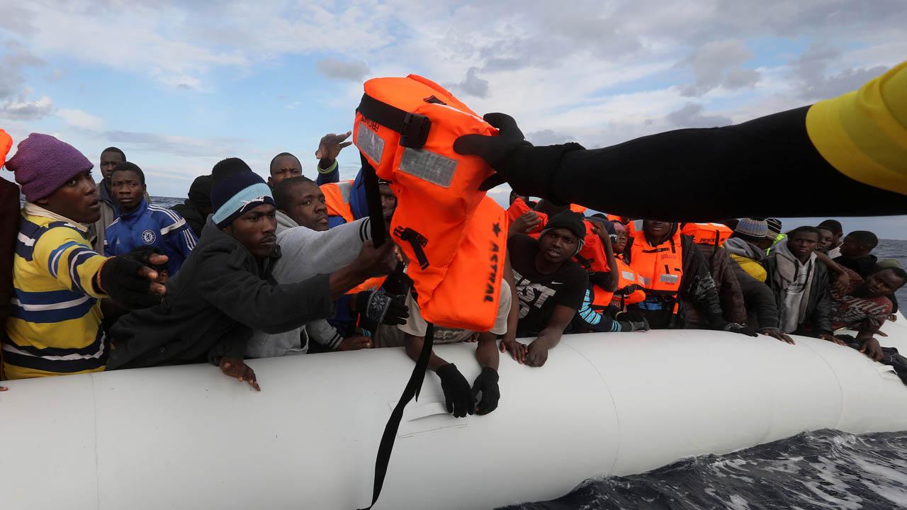 Más de cien personas fallecieron en el mar mediterráneo en los últimos días