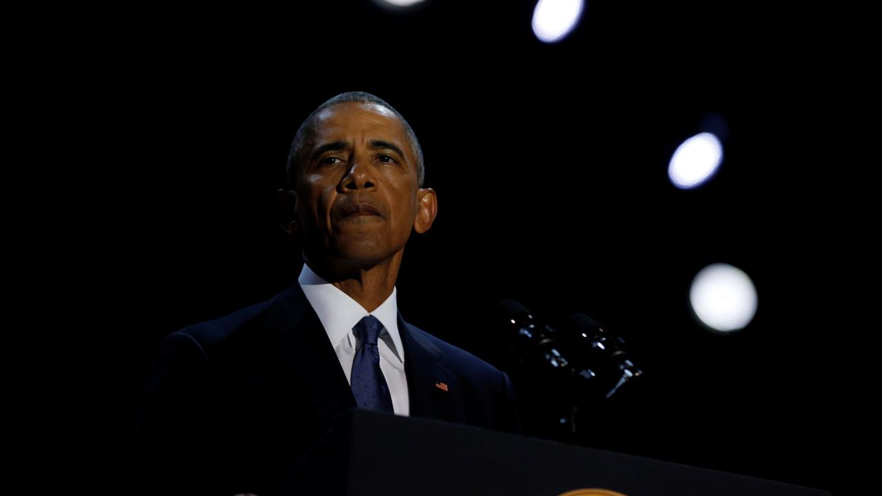 """""""Obama ha dado más conmutaciones que los últimos 12 presidentes combinados"""" tuiteó la Casa Blanca con una gráfica estadística"""
