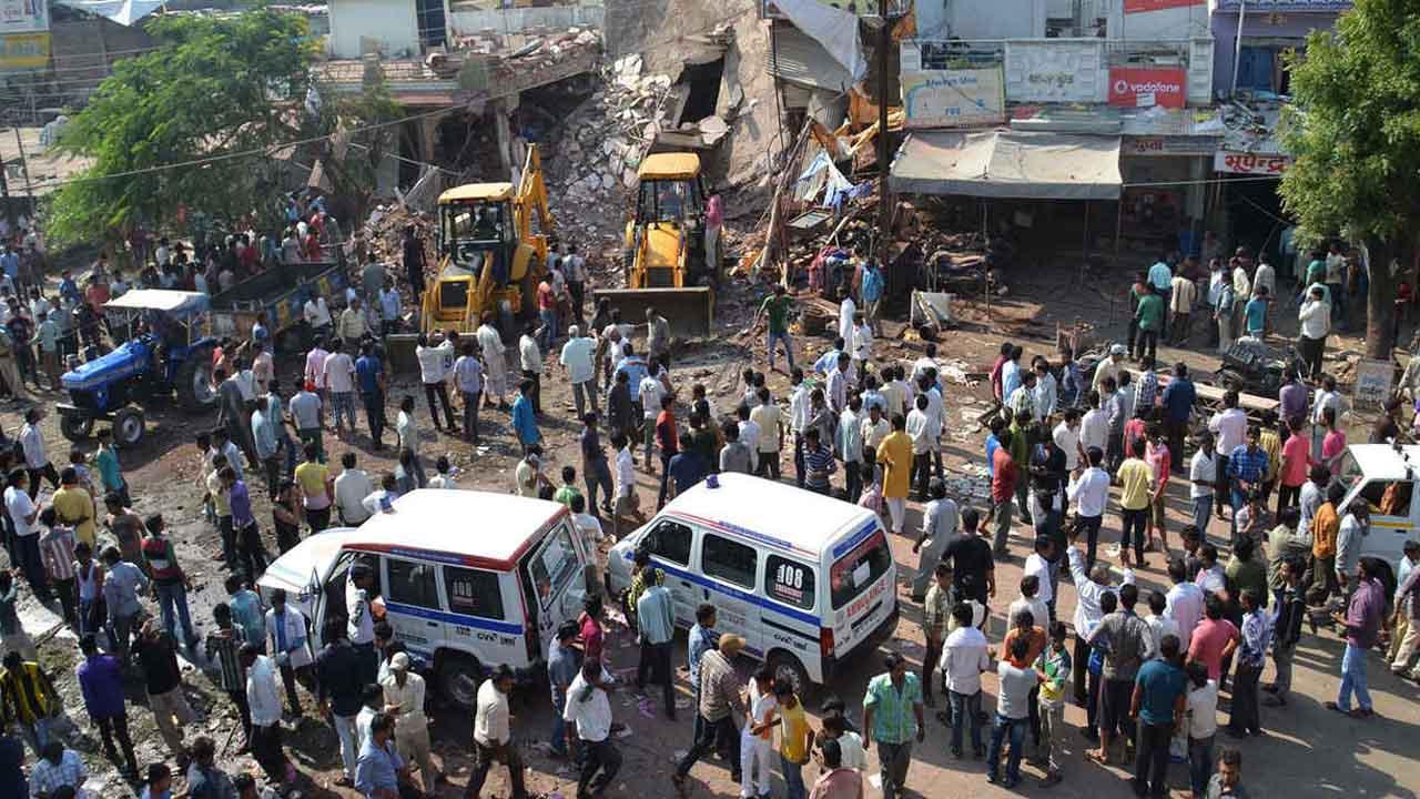 Tres muertos en explosion